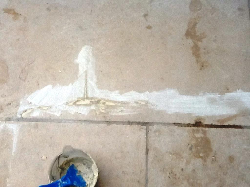 Damaged Tile Repair