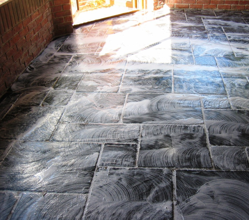 Slate Clean and Seal